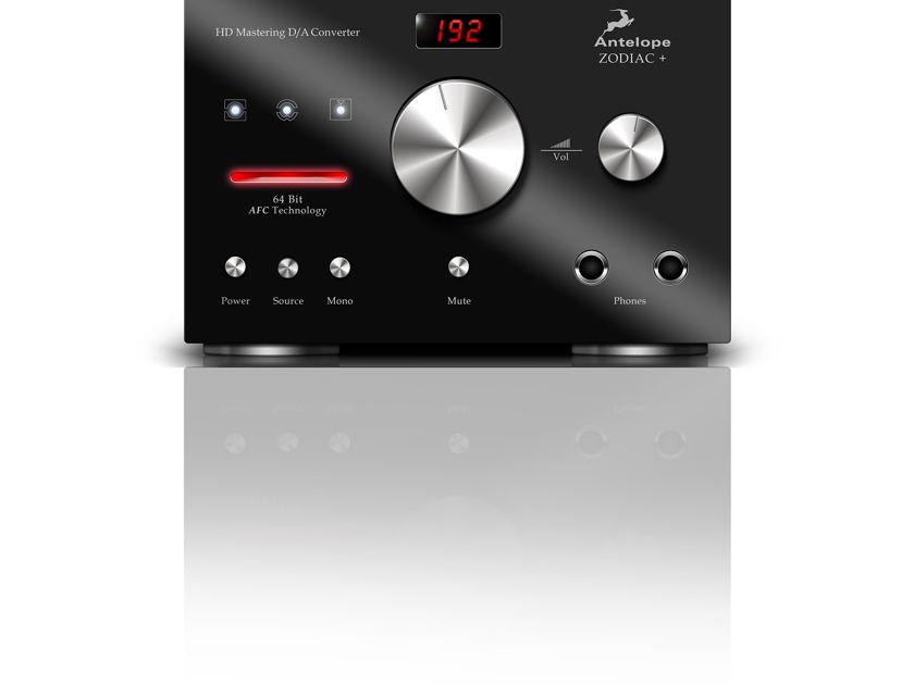 Antelope Audio Zodiac+ DAC Factory Refurbished