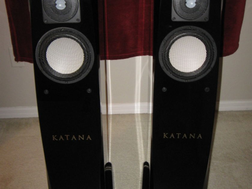"""KATANA VFLEX V2  Tower Speakers on par with Magico, Raidho & Wilson 70% off retail cost """"Factory Boxed"""" Free Shipping & PAYPAL!"""