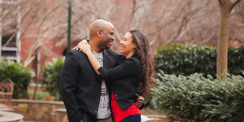 Surprise Valentine's Day Shoot Turns into an Engagement