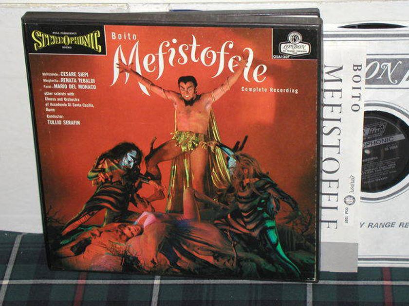 Serafin/AdSCR - Boito Mefistofele London ffrr UK Decca osa1307