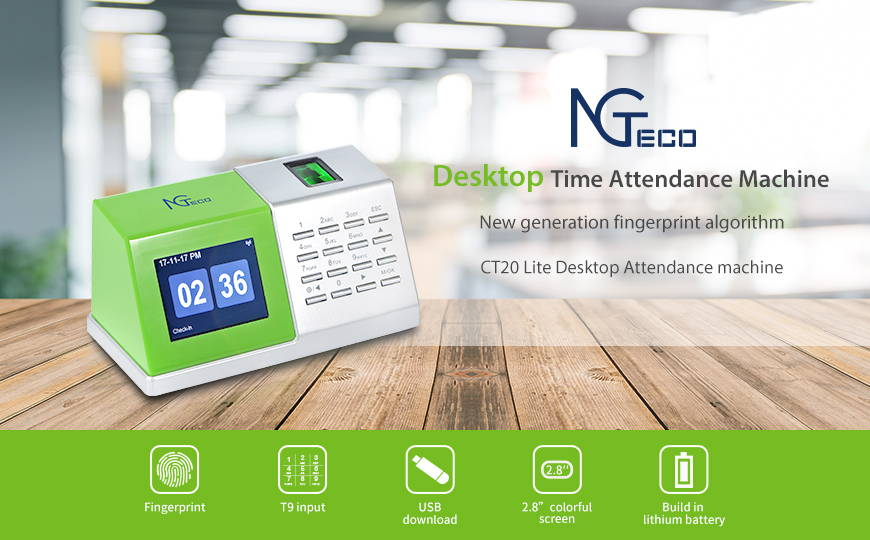 Fingerprint Time Attendance Machine — ZKTeco USA Official Store