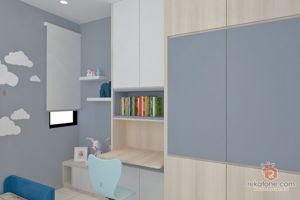 stellancer-design-studio-contemporary-minimalistic-modern-scandinavian-malaysia-penang-bedroom-kids-3d-drawing