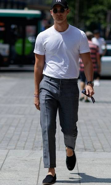 Tucked In T-Shirt + Trousers