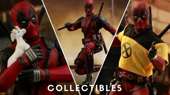 Deadpool Movie and Comic Collectibles and statues from Kotobukiya, HotToys, Sideshow, Mezco , free shipping across India