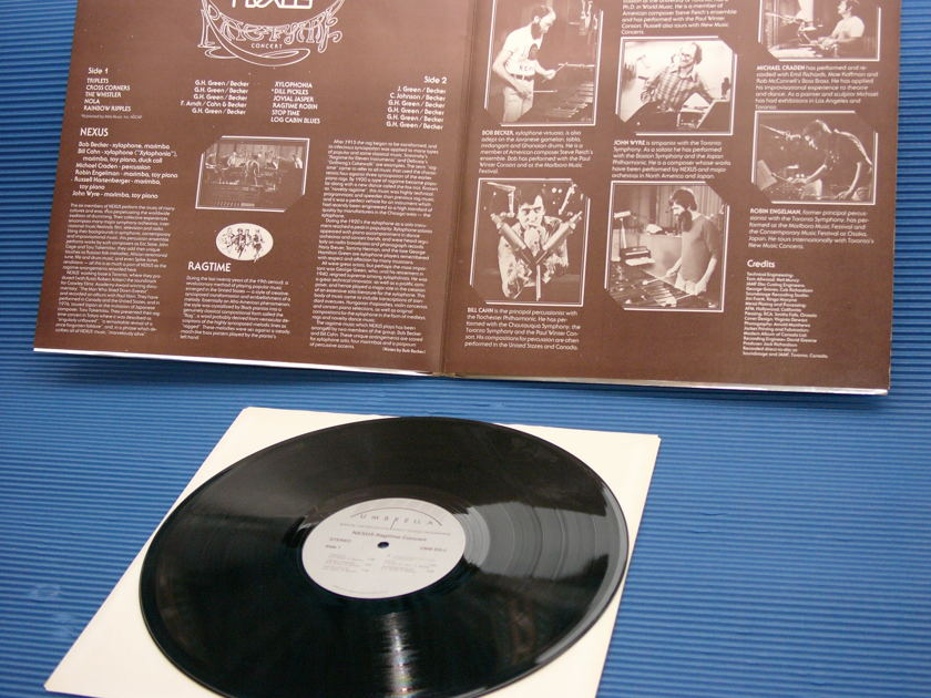 "NEXUS -  - ""Ragtime Concert"" -  Umbrella Direct to Disc 1976 Rare!"