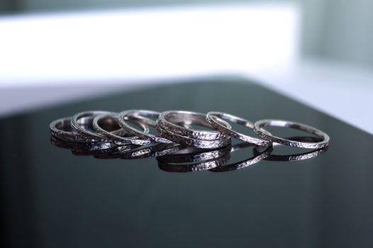 Тонкое текстурное кольцо