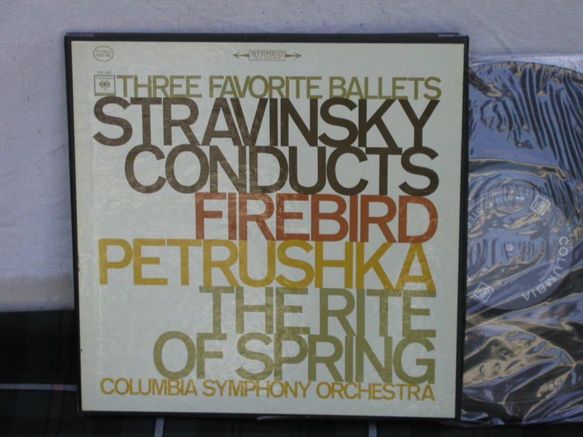 Stravinsky/CSO  Conducts - Stravinsky 3 LP boxset <360> labels 1st press.
