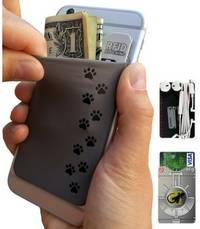 phone wallet Dog Paws by gecko travel tech