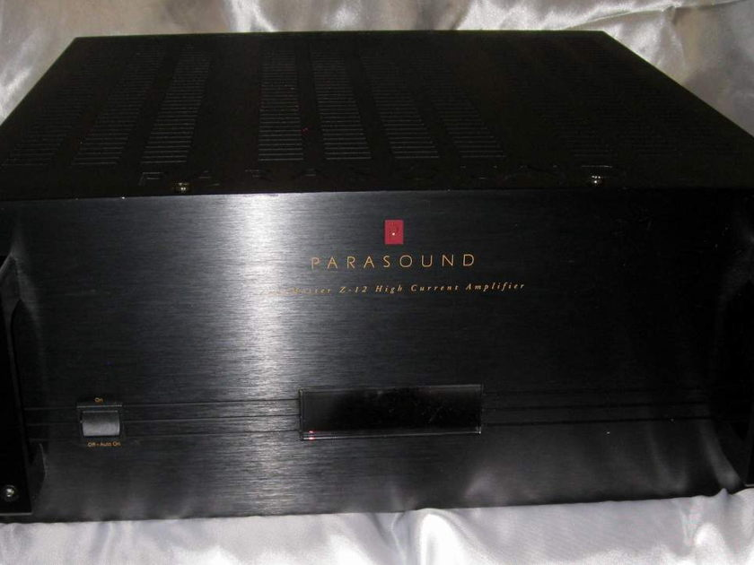 Parasound Z-12 12 channel high current power amplifier for parts or repair