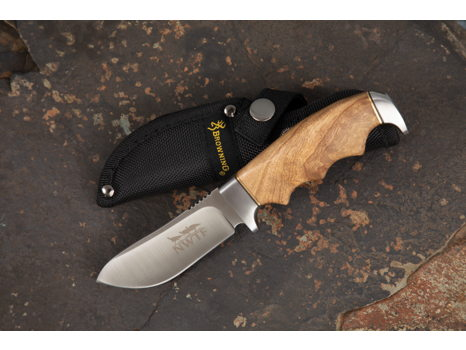 Browning Burlwood Handle Knife