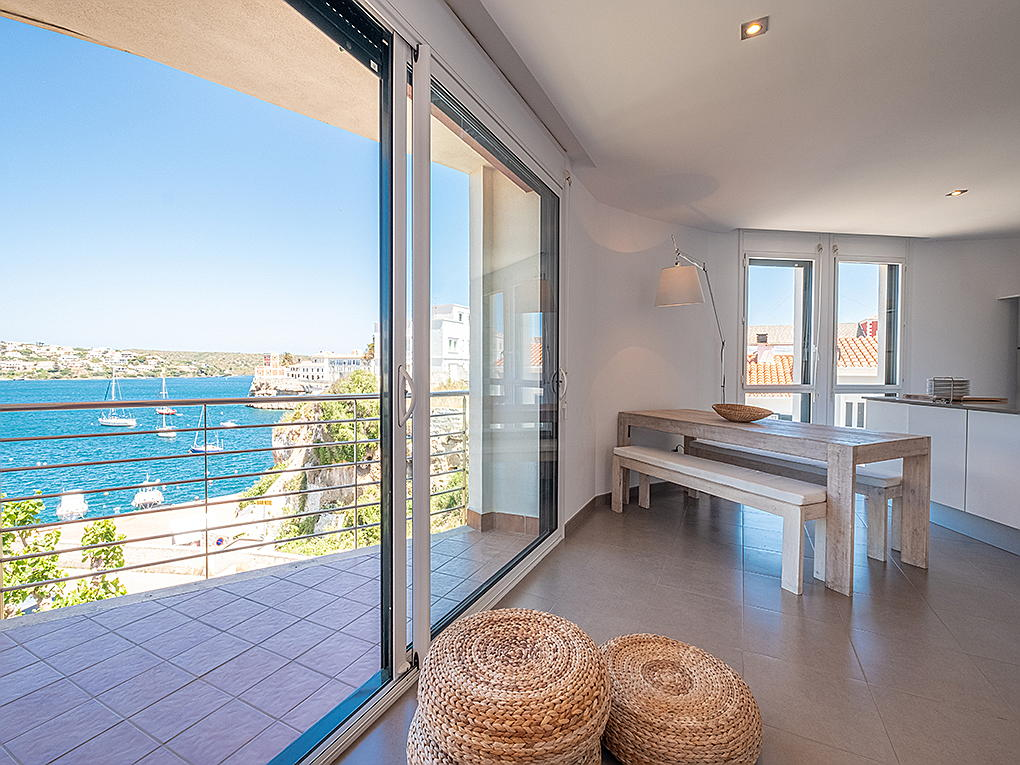 Mahón - Apartment located in Es Castell with privileged views of the port of Mahón