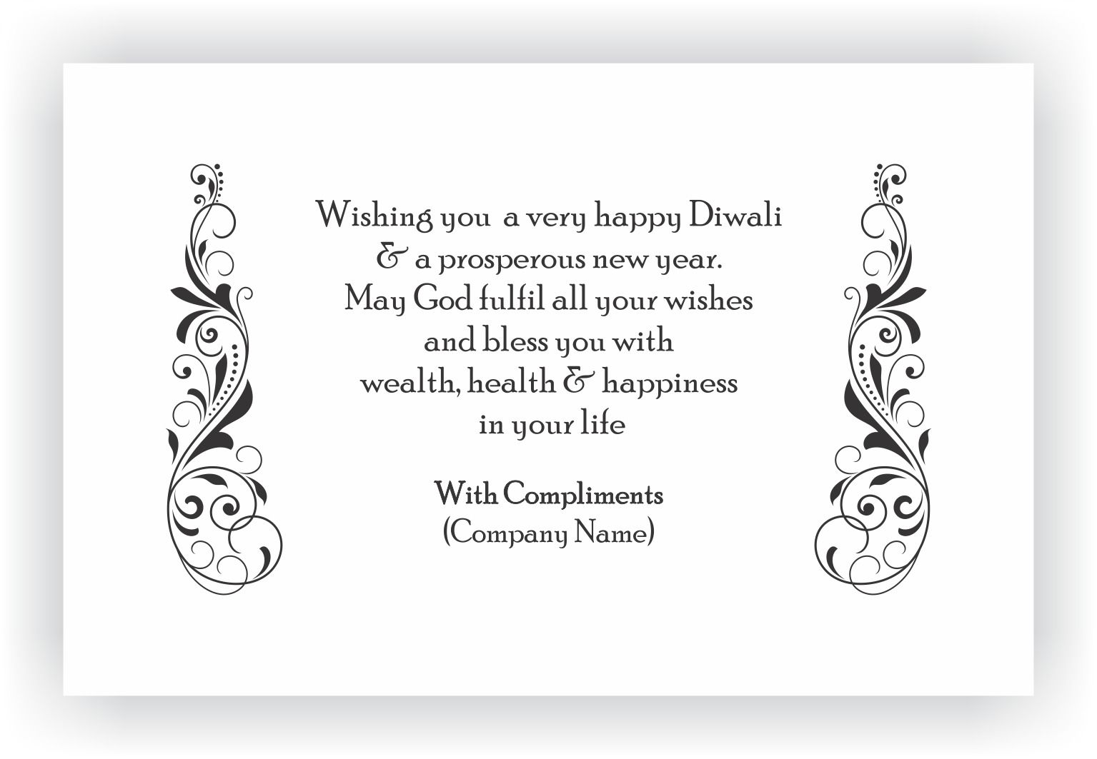 Messages for your client employees corporate diwali gifts diwali gifts messages stopboris Choice Image