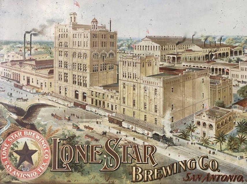 SAMA as the Lone Star Brewery