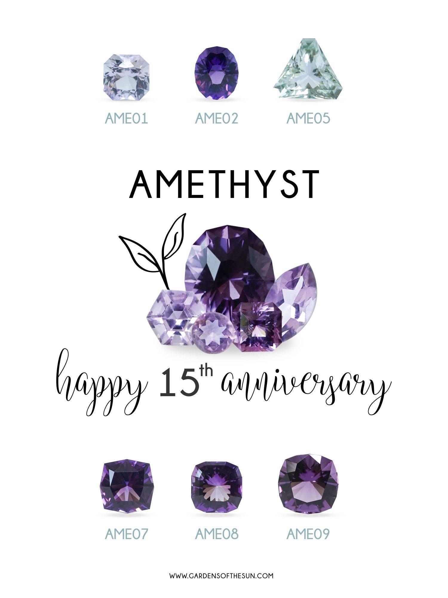 Custom amethyst ethical gold ring