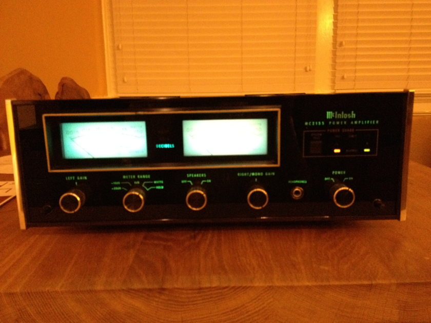 McIntosh MC 2155 Reconditioned at McIntosh