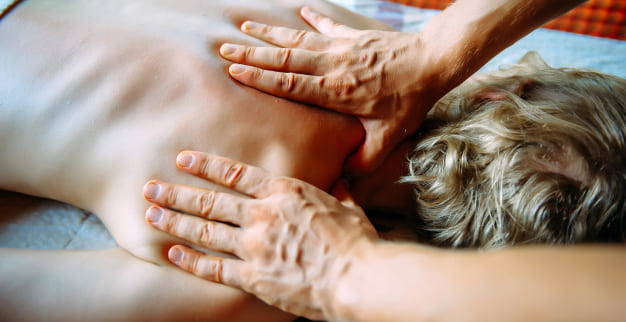 people massage