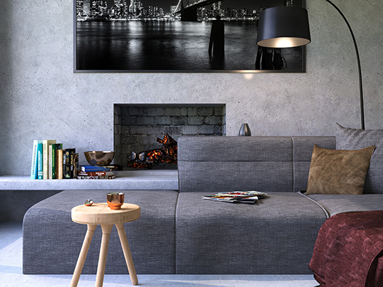 The Straight, Lonehill - Express yourself with your living room interior design and the perfect sofa for you.