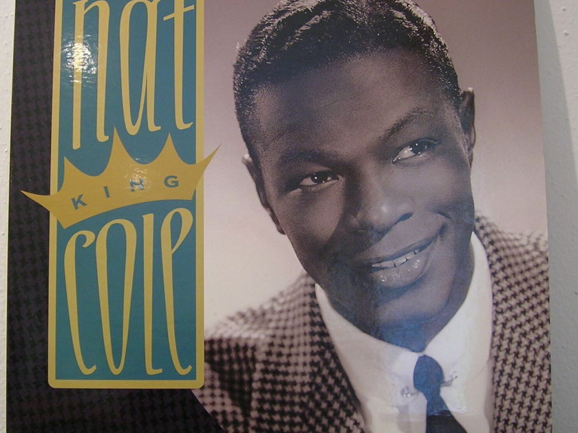 """Nat """"King"""" Cole - """"The Greatest Hits"""" DCC 180g double LP"""
