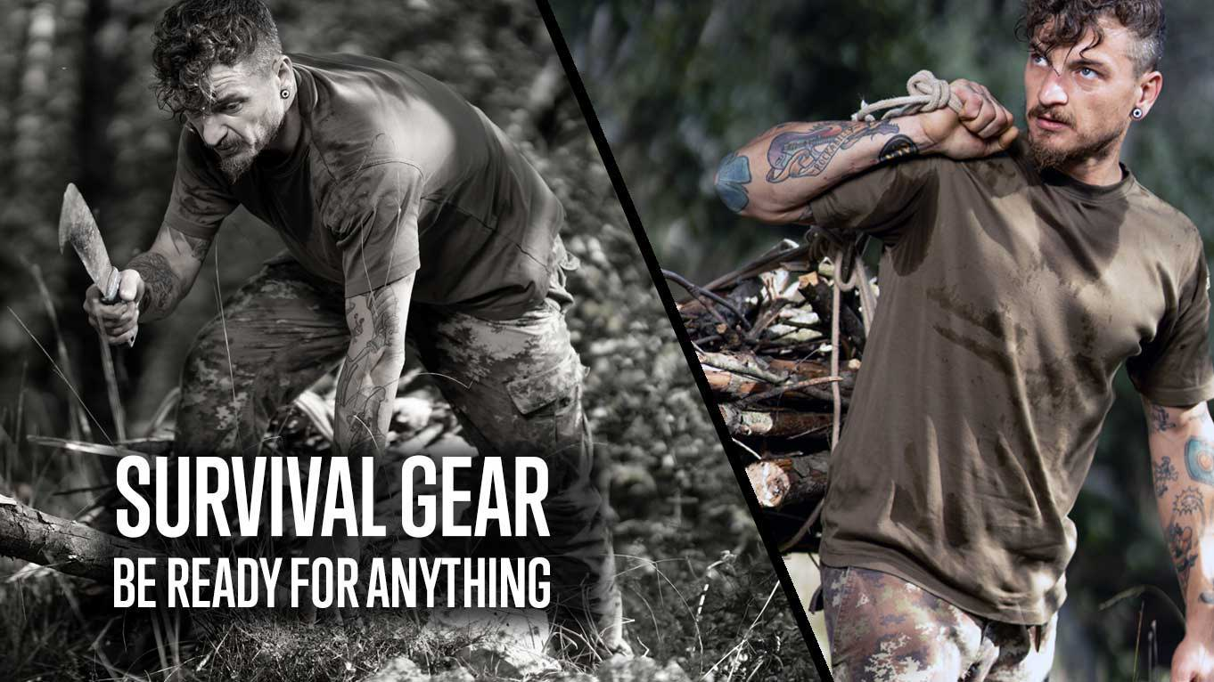 best survival gear bags pants knives