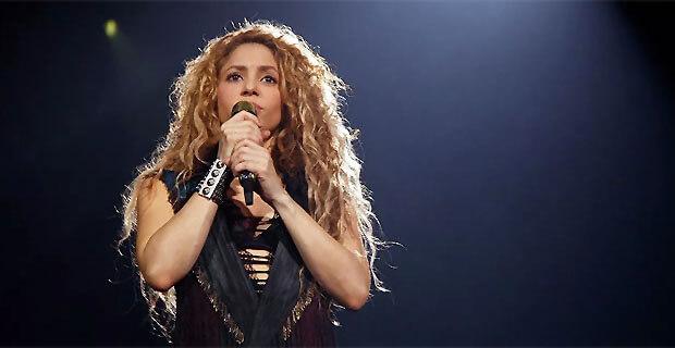«День с Легендой» на Эльдорадио: Shakira - Новости радио OnAir.ru