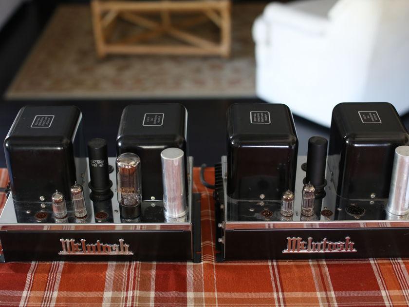 McIntosh MC30 Original Tube Amplifier Pair