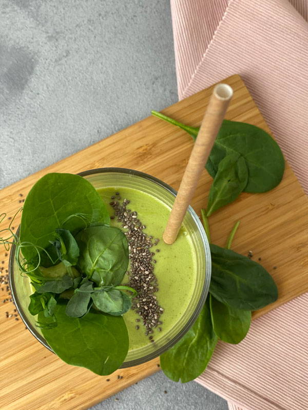 Kolagēna zaļais smūtijs