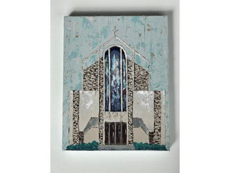 St. Catherine of Siena Church Painting by Lori Wilken
