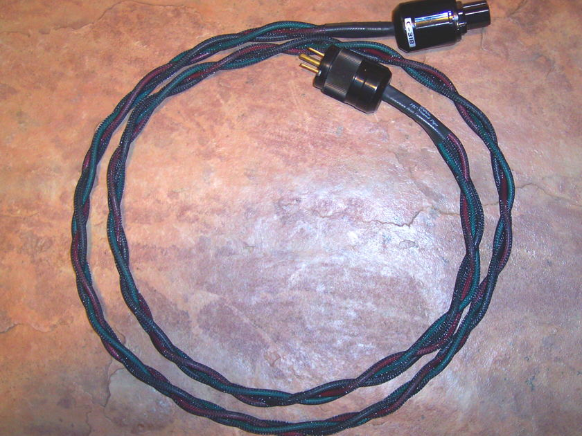 My Audio Cables HC sound pipe  power cable, 6'