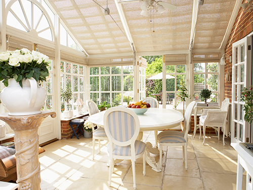 Conservatory ideas for a cosy indoor garden in winter