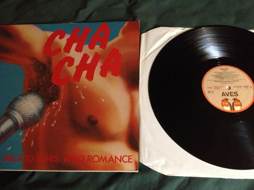 Herman Brood - Cha Cha Live LP NM