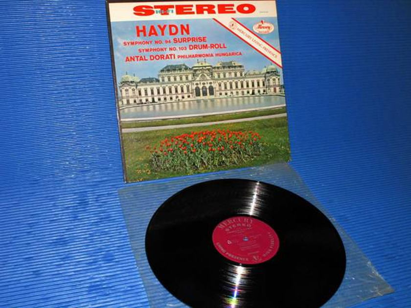 "HAYDN/Dorati -  - ""Symphony 94 & 103"" - Mercury Living Presence 1960 early pressing"