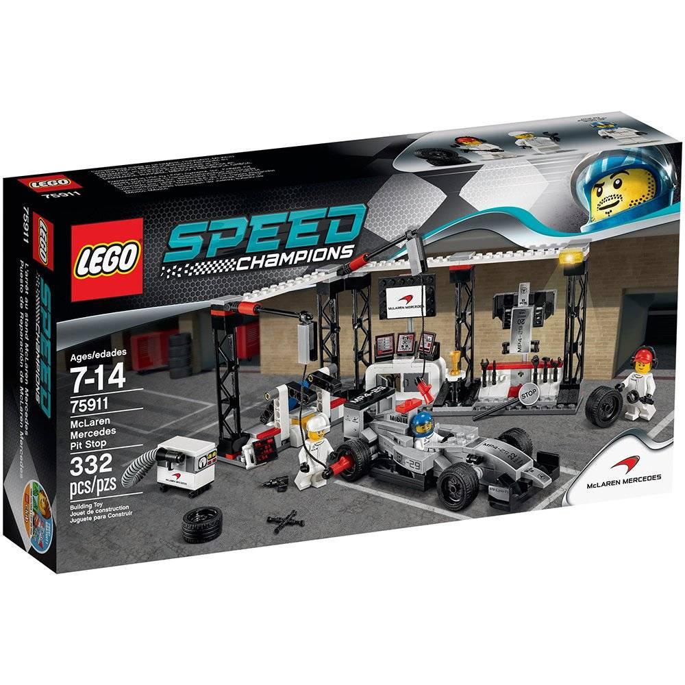 LEGO 75911: McLaren Mercedes Pit Stop