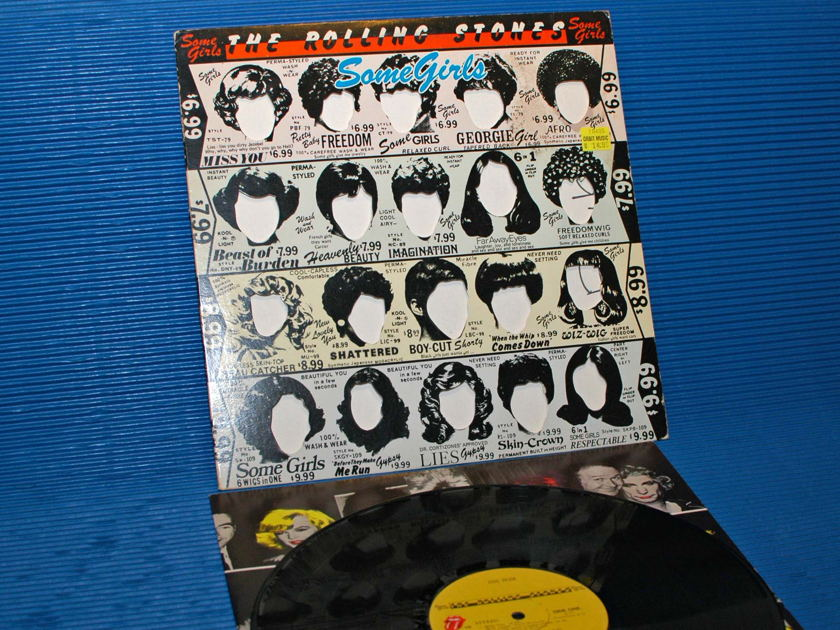 """THE ROLLING STONES  - """"Some Girls"""" -  RSR 1978 'Banned Cover & Inner Sleeve' version!"""
