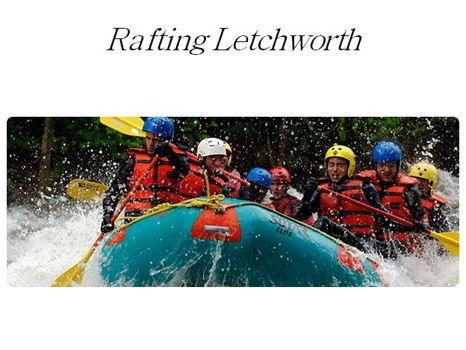 Rafting Letchworth