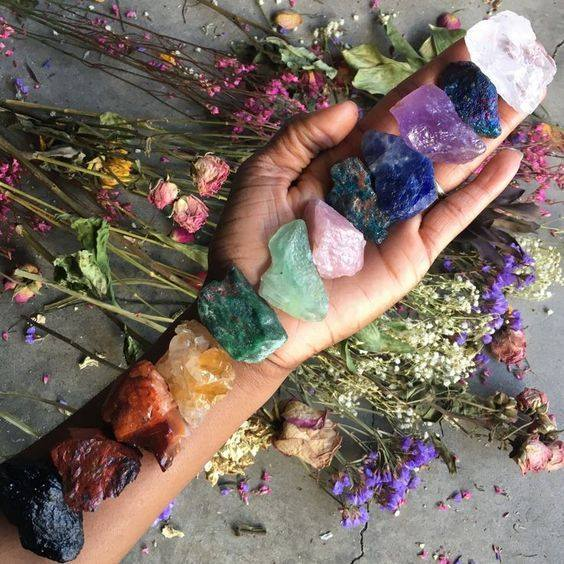 Picture of Chakra Healing with Crystals & Reiki - Using the sacred energy of Reiki, Crystals, Breath and meditation we will work through 7 Chakras to release fear, guilt, shame, and grief  which can create imbalances in your energetic system.