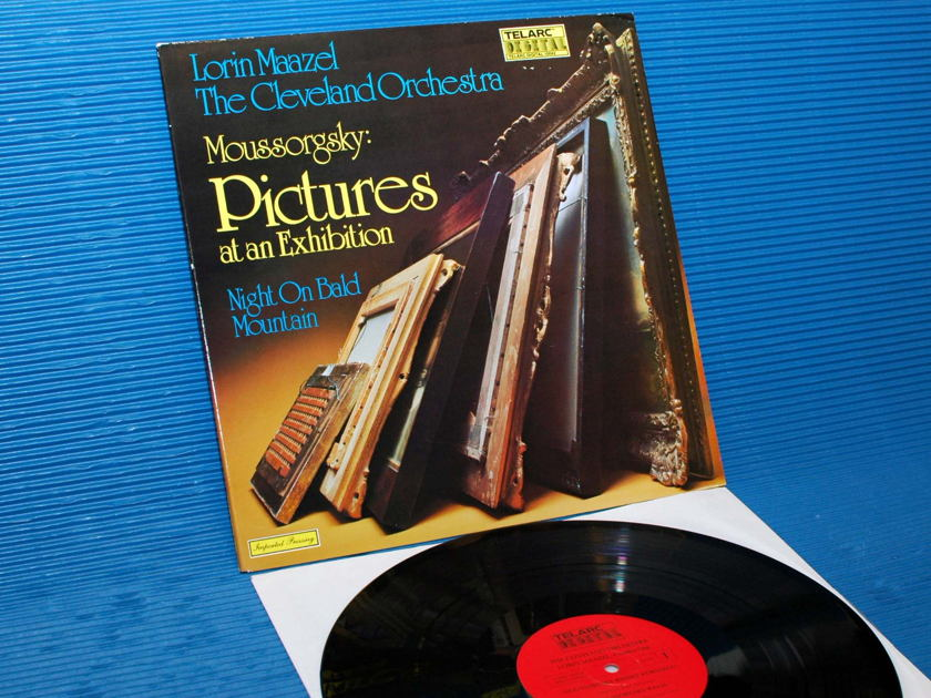 """MOUSSORGSKY/Maazel - - """"Pictures At An Exhibition"""" -  Telarc 1979 German import TAS"""