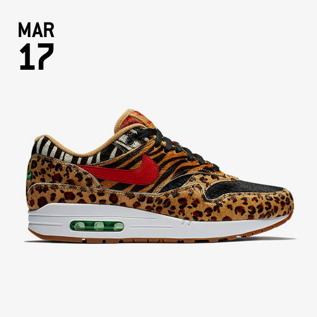Nike Air Max 1 DLX Atmos 'Beast' Shoes at Urban Industry