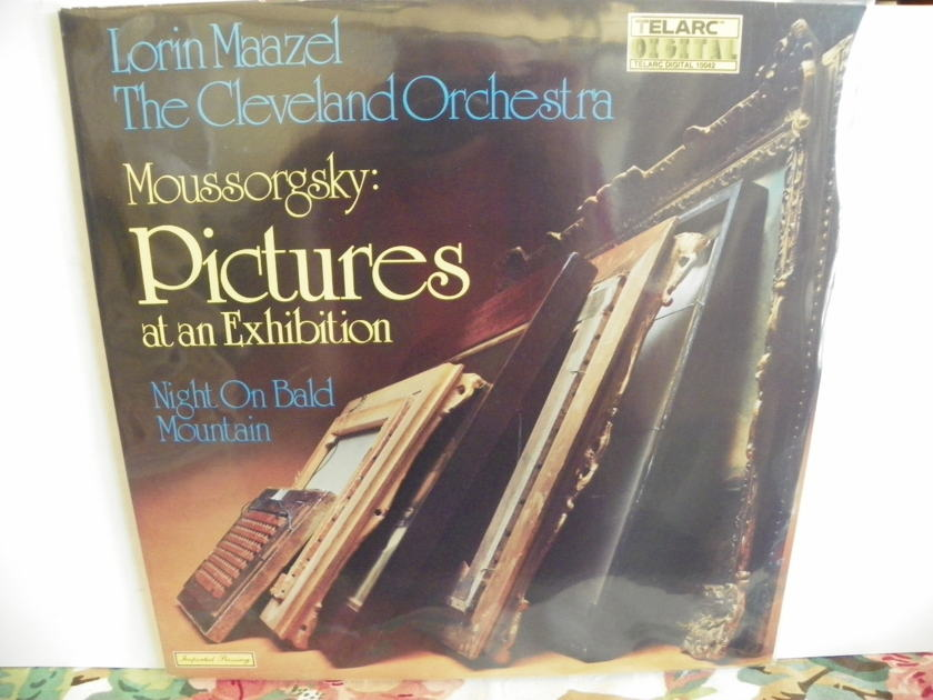 LORIN MAAZEL/CLEVELAND ORCH. - PICTURES AT AN EXHIBITION TELARC DIGITAL NM