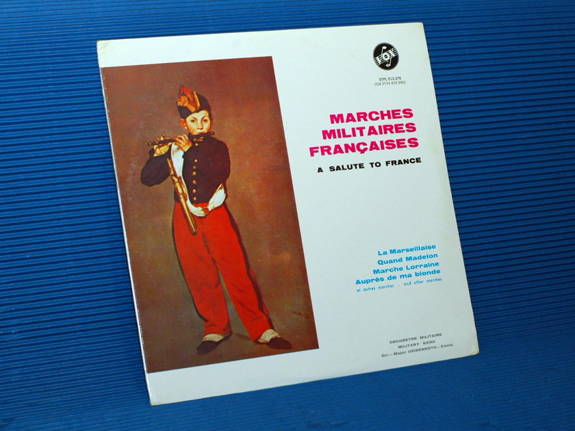MARCHES MILITAIRES FRANCIASES -  - Orchestre Militaire -  Vox sealed!