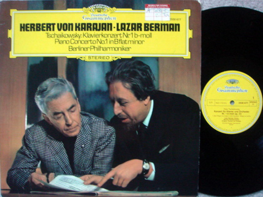 DG / BERMAN-KARAJAN, - Tchaikovsky Piano Concerto No.1, NM!