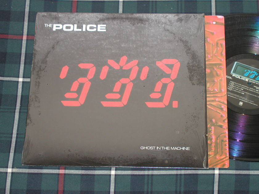"The Police ""Ghost In The Machine"" - Still in shrink. NM+ copy A&M SP-3730 ""custom labels"""