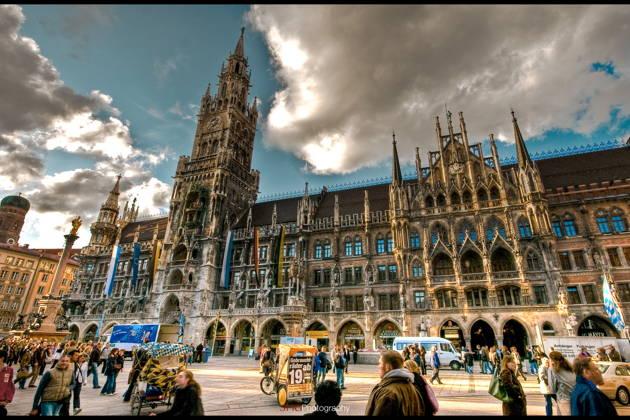 Авто-пешеходная экскурсия по Мюнхену