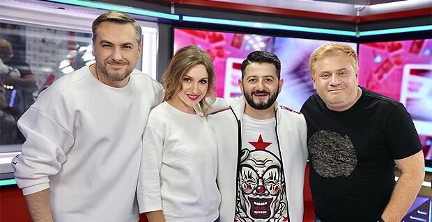 Михаил Галустян стал гостем утреннего шоу «Русские Перцы» на «Русском Радио» - Новости радио OnAir.ru