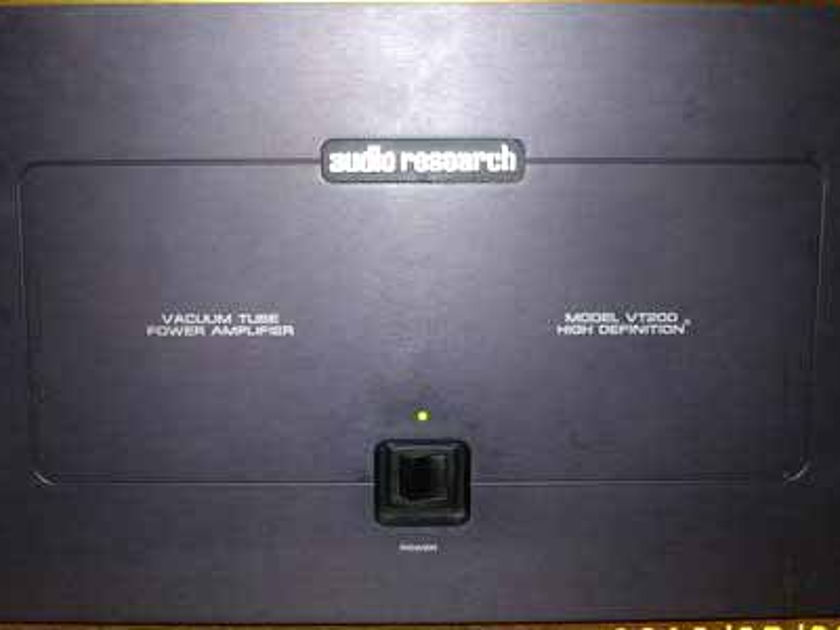 Audio Research VT200 - Beautiful Tube Sound