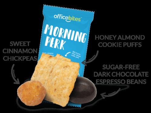 Morning perk snack