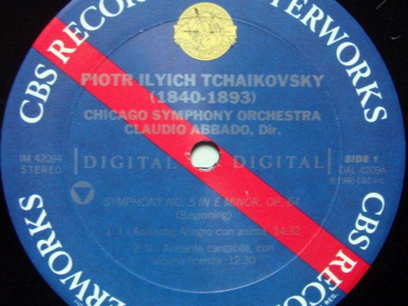 CBS Digital / ABBADO, - Tchaikovsky Symphony No.5, MINT, Promo Copy!