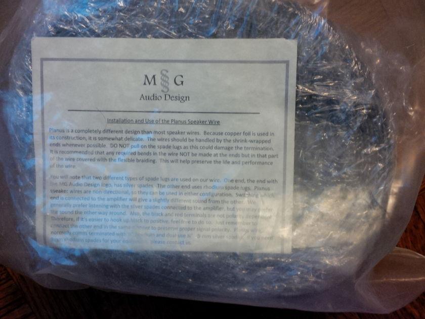 MG Audio Design Planus III 6' speaker cable