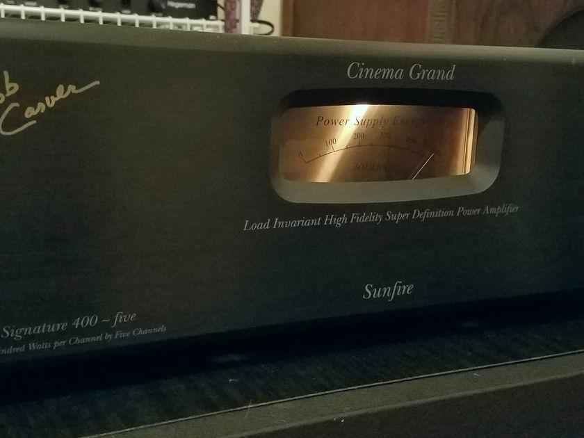"Carver Four Hundred Five Grand Cinema Signature Edition 17"""