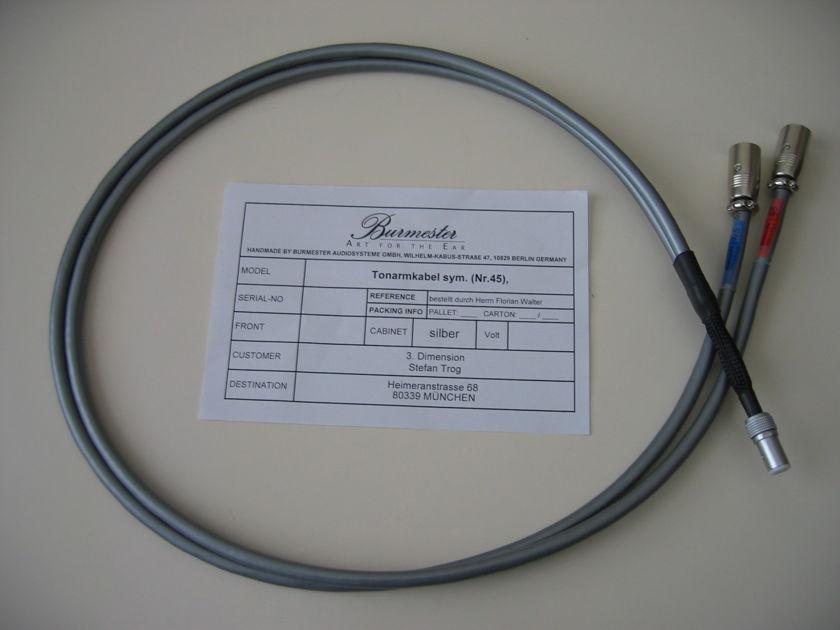 Burmester Silver Phono Cable SME 5 pin - XLR; 1.25 meter