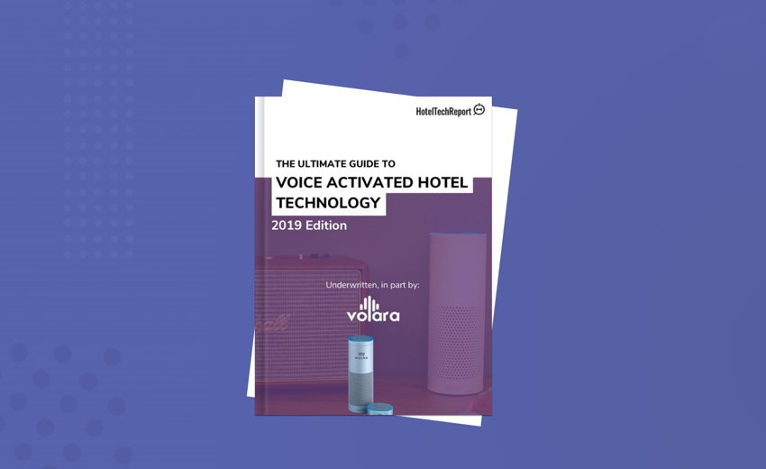 The Ultimate Guide To Voice Activated Hotel Technology